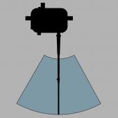 KS-1385IB Commercial Inboard Wiper, Pendulum Arm